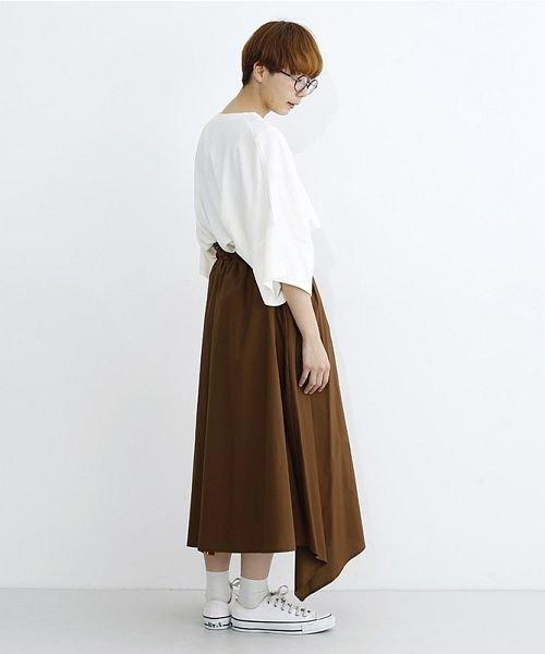merlot(メルロー)/ストライプ柄配色ラップスカート/00010012-879230008468_img14