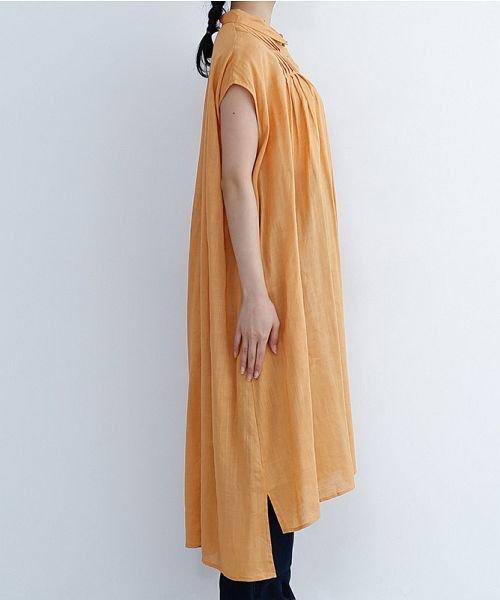 merlot(メルロー)/リネンミックスタックワンピース/00010012-879230018397_img02