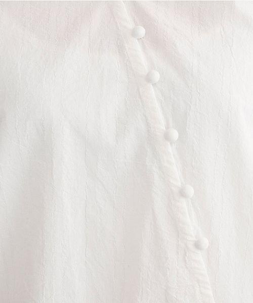 merlot(メルロー)/アシンメトリーウエストリボンブラウス/00010012-879230018400_img07