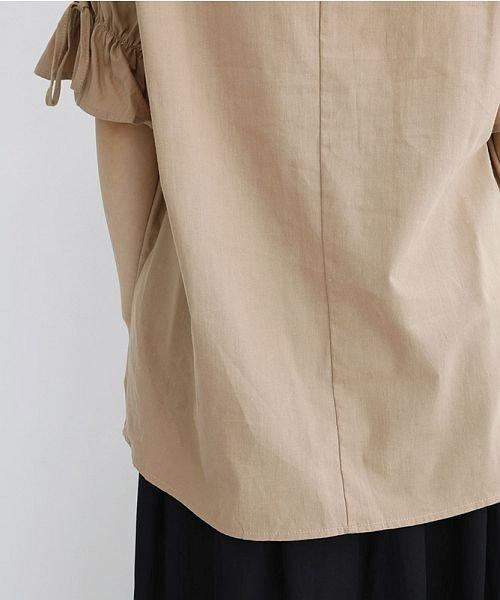 merlot(メルロー)/「稲穂の実り」刺繍ギャザースリーブブラウス/00010012-879230018489_img09