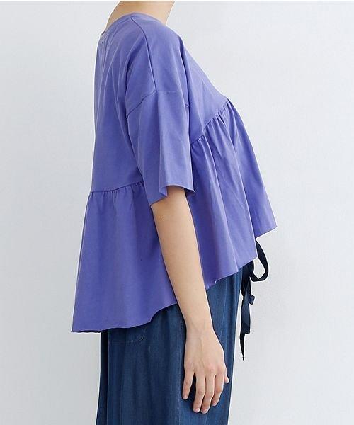 merlot(メルロー)/カットオフギャザーTシャツ/00010012-939110032884_img02