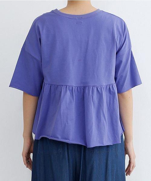 merlot(メルロー)/カットオフギャザーTシャツ/00010012-939110032884_img03