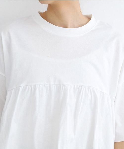 merlot(メルロー)/カットオフギャザーTシャツ/00010012-939110032884_img04