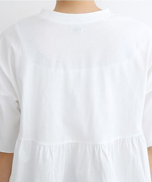 merlot(メルロー)/カットオフギャザーTシャツ/00010012-939110032884_img06