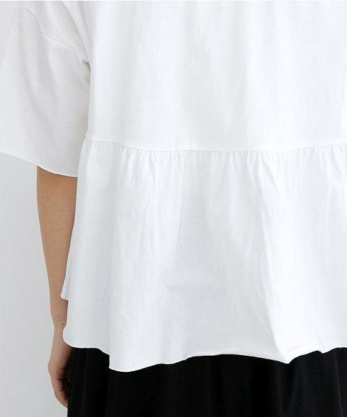 merlot(メルロー)/カットオフギャザーTシャツ/00010012-939110032884_img07