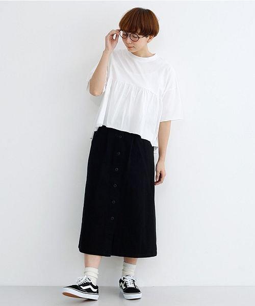 merlot(メルロー)/カットオフギャザーTシャツ/00010012-939110032884_img12