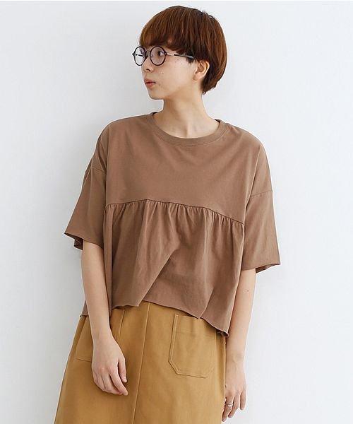 merlot(メルロー)/カットオフギャザーTシャツ/00010012-939110032884_img17