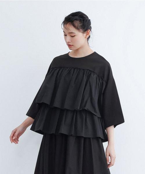 merlot(メルロー)/【IKYU】ティアードフリルプルオーバー/00010012-939130032948_img18