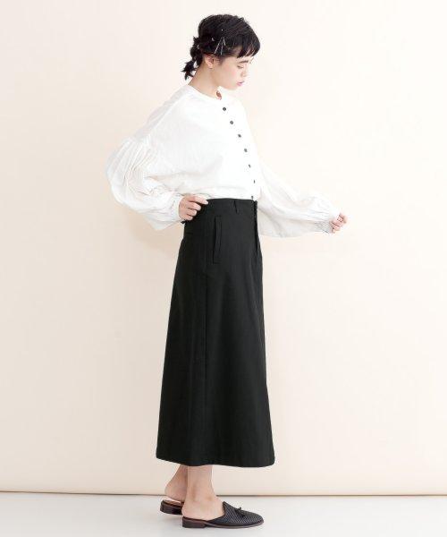 merlot(メルロー)/【IKYU】バックリボンIラインスカート/00010012-939130062865_img01