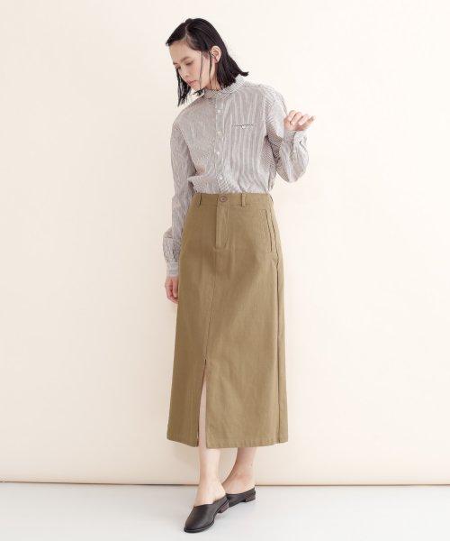 merlot(メルロー)/【IKYU】バックリボンIラインスカート/00010012-939130062865_img03