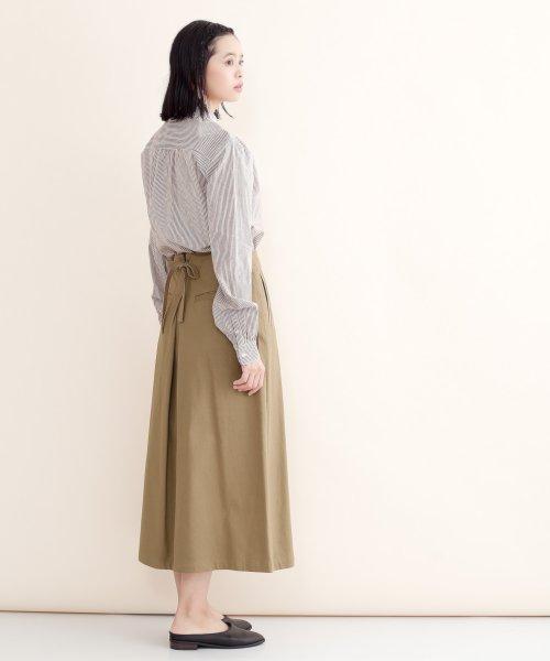 merlot(メルロー)/【IKYU】バックリボンIラインスカート/00010012-939130062865_img04