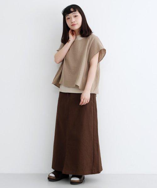 merlot(メルロー)/【IKYU】バックリボンIラインスカート/00010012-939130062865_img05