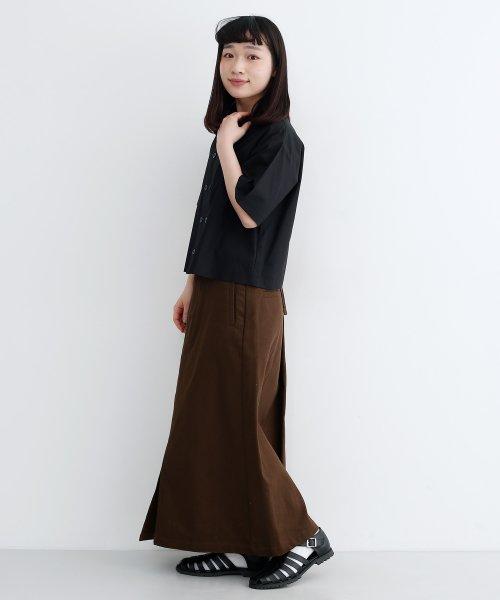 merlot(メルロー)/【IKYU】バックリボンIラインスカート/00010012-939130062865_img07