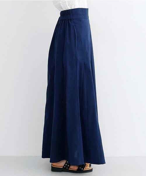 merlot(メルロー)/コットンリネンマーメードスカート/00010012-939130112869_img02