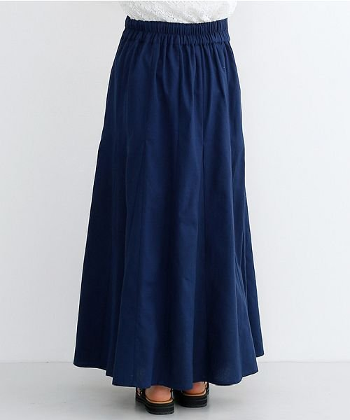 merlot(メルロー)/コットンリネンマーメードスカート/00010012-939130112869_img03