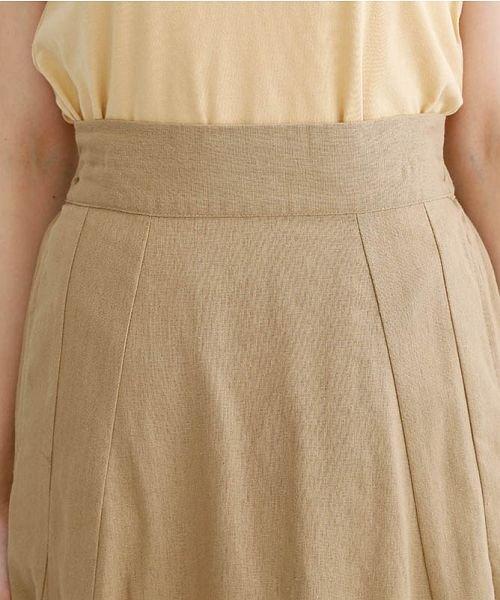 merlot(メルロー)/コットンリネンマーメードスカート/00010012-939130112869_img04