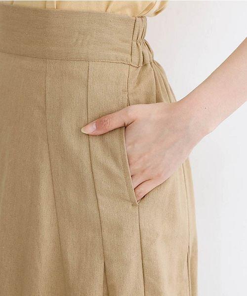 merlot(メルロー)/コットンリネンマーメードスカート/00010012-939130112869_img06