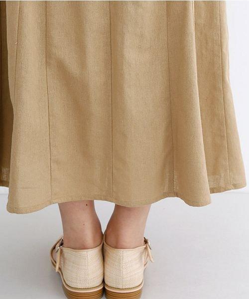 merlot(メルロー)/コットンリネンマーメードスカート/00010012-939130112869_img07