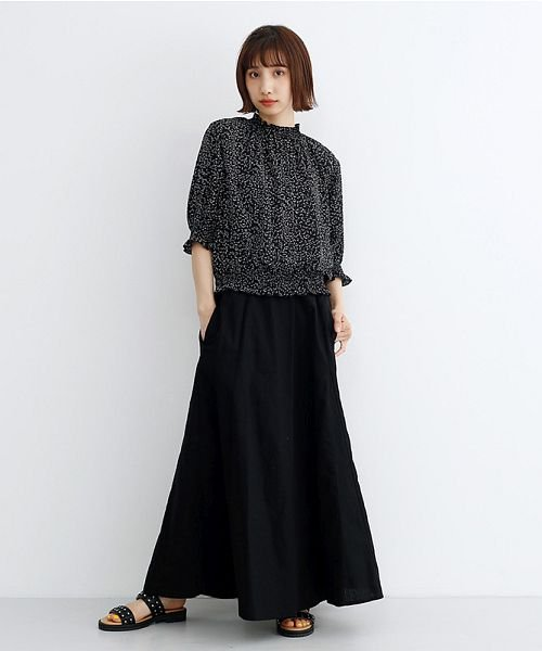 merlot(メルロー)/コットンリネンマーメードスカート/00010012-939130112869_img09