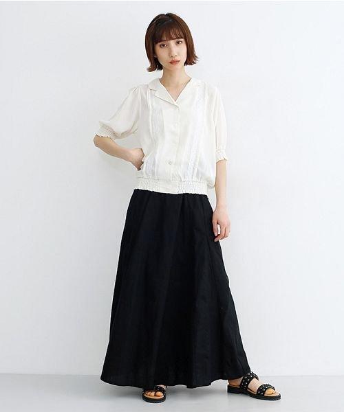 merlot(メルロー)/コットンリネンマーメードスカート/00010012-939130112869_img10