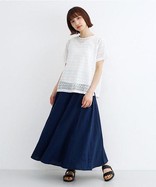 merlot(メルロー)/コットンリネンマーメードスカート/00010012-939130112869_img11