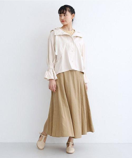 merlot(メルロー)/コットンリネンマーメードスカート/00010012-939130112869_img13