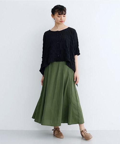 merlot(メルロー)/コットンリネンマーメードスカート/00010012-939130112869_img16
