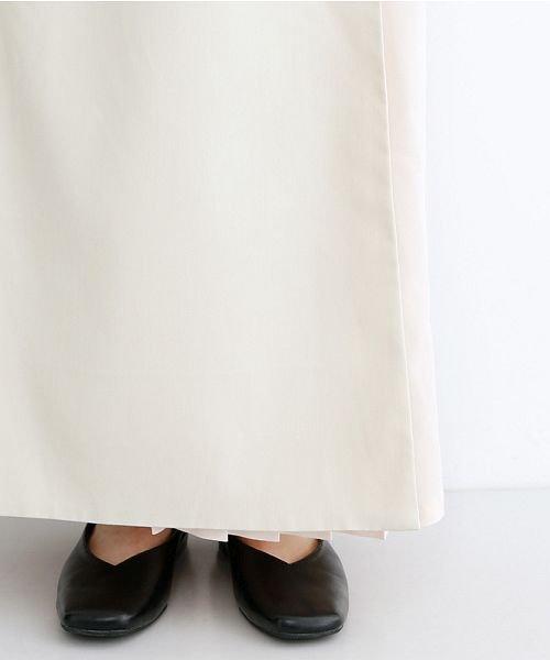 merlot(メルロー)/【plus】サイドプリーツラップワイドパンツ/00010012-939210062957_img05