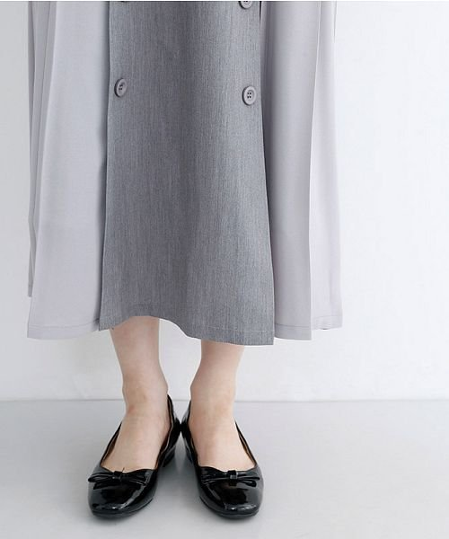 merlot(メルロー)/【plus】フロントダブルボタンプリーツスカート/00010012-939210062958_img04