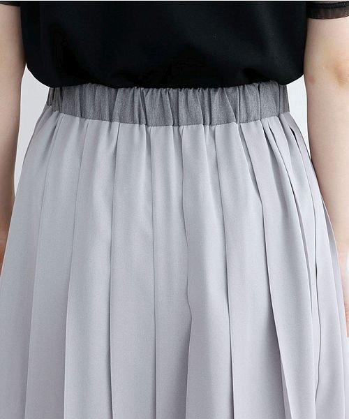 merlot(メルロー)/【plus】フロントダブルボタンプリーツスカート/00010012-939210062958_img06