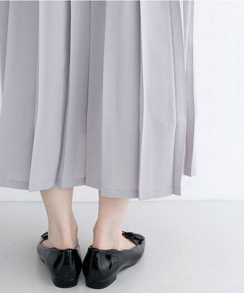 merlot(メルロー)/【plus】フロントダブルボタンプリーツスカート/00010012-939210062958_img07