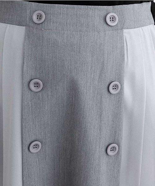 merlot(メルロー)/【plus】フロントダブルボタンプリーツスカート/00010012-939210062958_img08