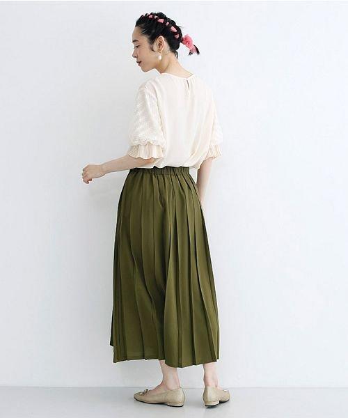 merlot(メルロー)/【plus】フロントダブルボタンプリーツスカート/00010012-939210062958_img13