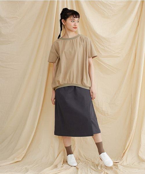 merlot(メルロー)/【IKYU】ラップ風タイトスカート/00010012-939210063053_img10