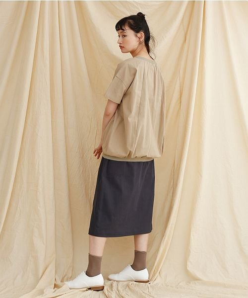 merlot(メルロー)/【IKYU】ラップ風タイトスカート/00010012-939210063053_img11