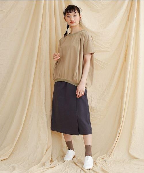 merlot(メルロー)/【IKYU】ラップ風タイトスカート/00010012-939210063053_img12