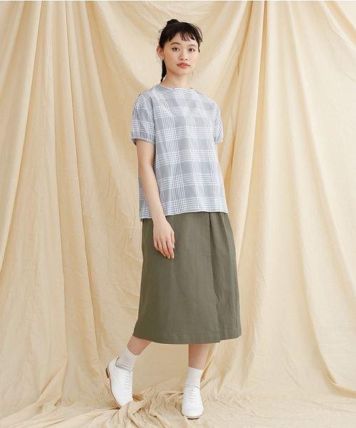 merlot(メルロー)/【IKYU】ラップ風タイトスカート/00010012-939210063053_img13