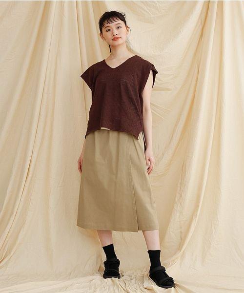 merlot(メルロー)/【IKYU】ラップ風タイトスカート/00010012-939210063053_img15