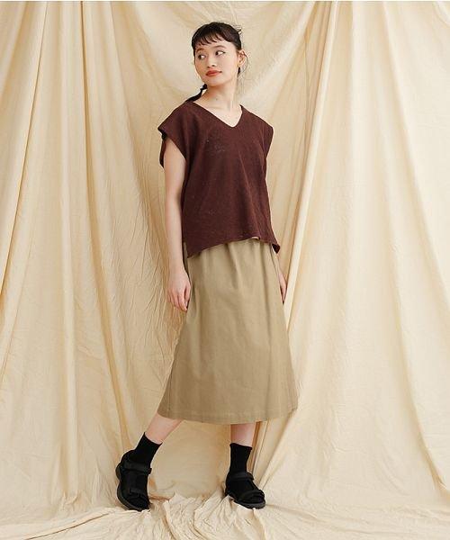 merlot(メルロー)/【IKYU】ラップ風タイトスカート/00010012-939210063053_img16