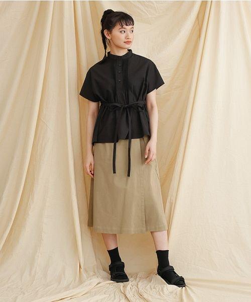 merlot(メルロー)/【IKYU】ラップ風タイトスカート/00010012-939210063053_img17