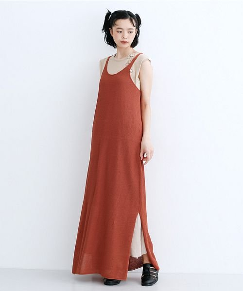 merlot(メルロー)/【IKYU】ニットキャミロングワンピース/00010012-939210123082_img13
