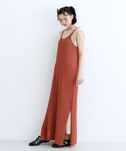 merlot(メルロー)/【IKYU】ニットキャミロングワンピース/00010012-939210123082_img14