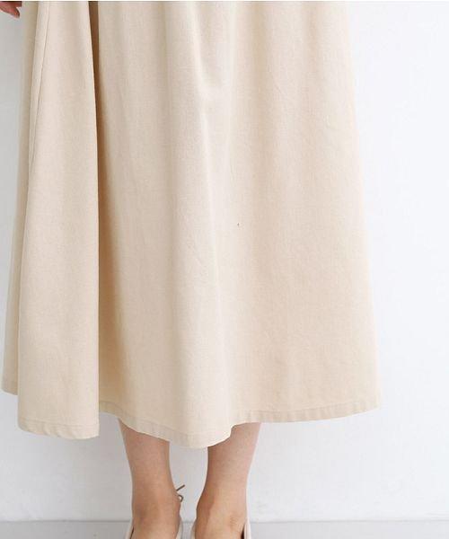 merlot(メルロー)/【IKYU】コットンリネンバイカラーギャザースカート/00010012-939210143081_img04