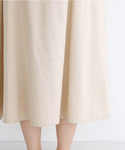 merlot(メルロー)/【IKYU】コットンリネンバイカラーギャザースカート/00010012-939210143081_img06
