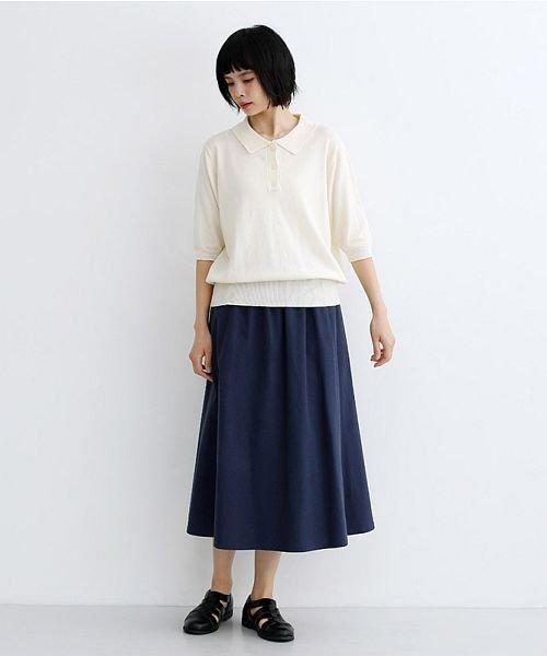 merlot(メルロー)/【IKYU】コットンリネンバイカラーギャザースカート/00010012-939210143081_img10