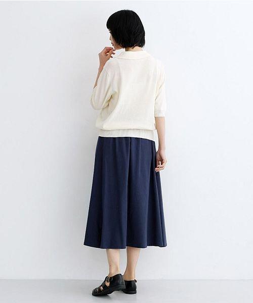 merlot(メルロー)/【IKYU】コットンリネンバイカラーギャザースカート/00010012-939210143081_img11