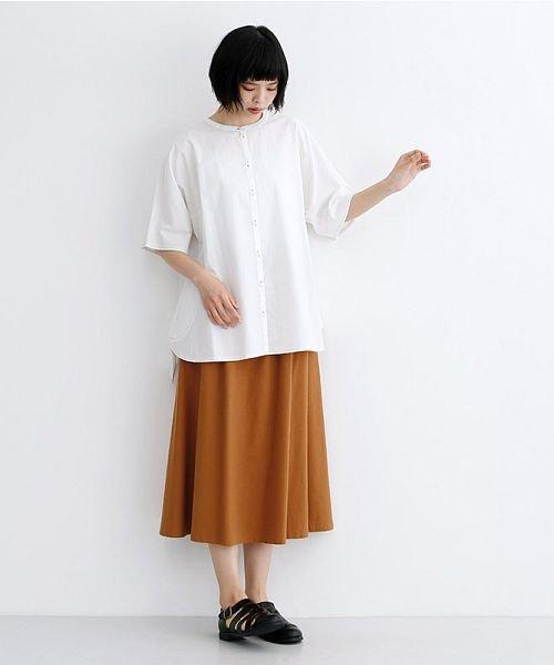 merlot(メルロー)/【IKYU】コットンリネンバイカラーギャザースカート/00010012-939210143081_img14