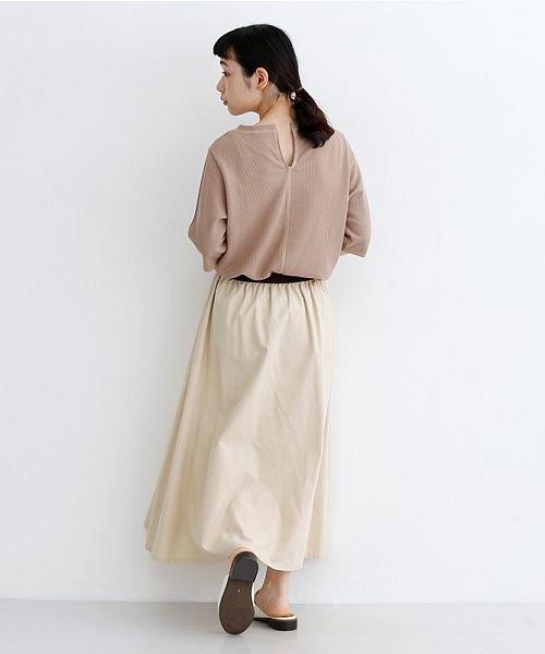 merlot(メルロー)/【IKYU】コットンリネンバイカラーギャザースカート/00010012-939210143081_img17