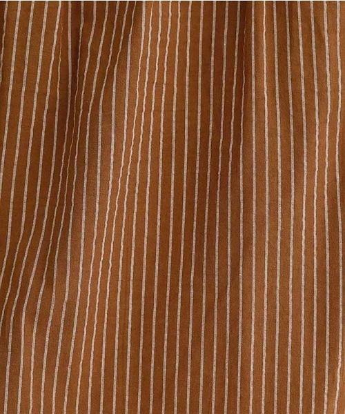 merlot(メルロー)/ストライプ柄サイドスリットシャツワンピース/00010012-939210153189_img15