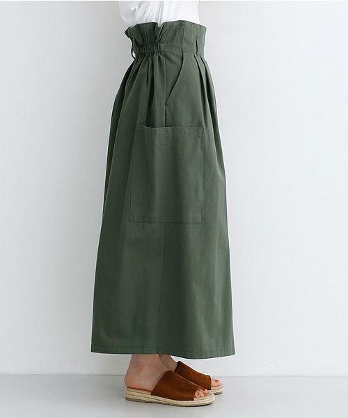 merlot(メルロー)/スリット入りタックロングスカート/00010012-939210203017_img02